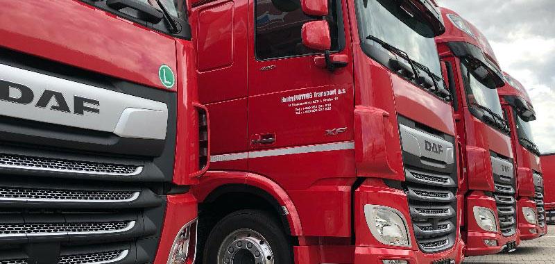 HrubyMOVING - kamionové doprava