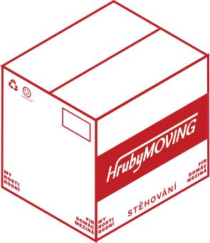 HrubyMOVING - krabice knižní