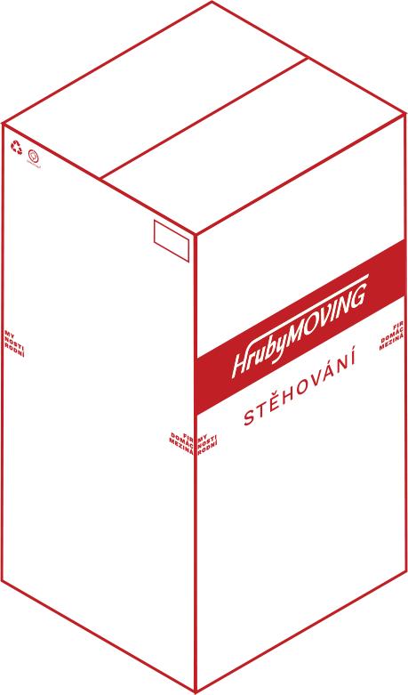 HrubyMOVING - krabice šatní