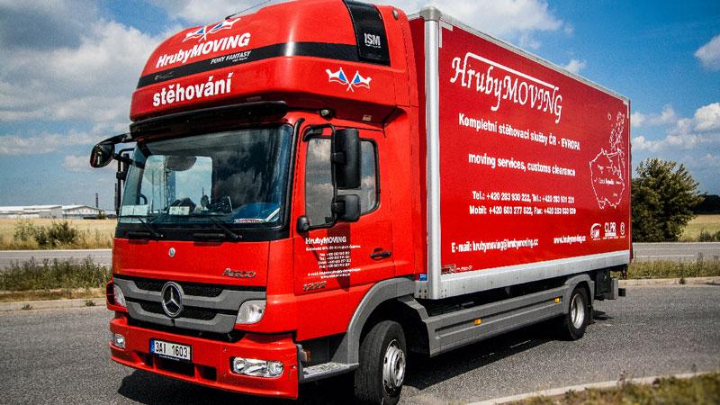 HrubyMOVING - Vozový park - Mercedes Atego
