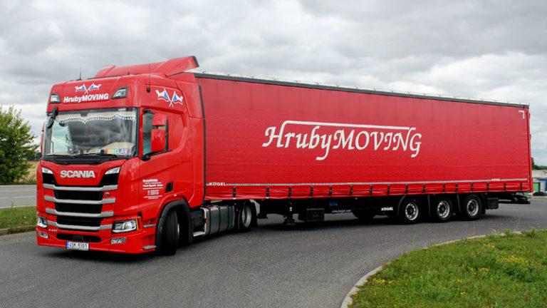 HrubyMOVING - Vozový park - Scania